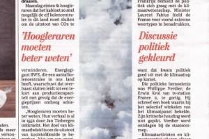 Telegraaf Eemshaven schoorsteen