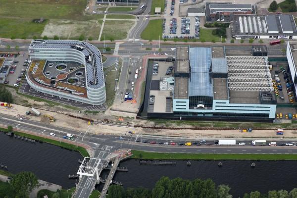 Brug Schiphol-Oost, fase 1