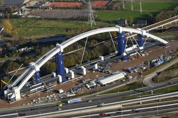 Spoorbrug  A1, fase 2
