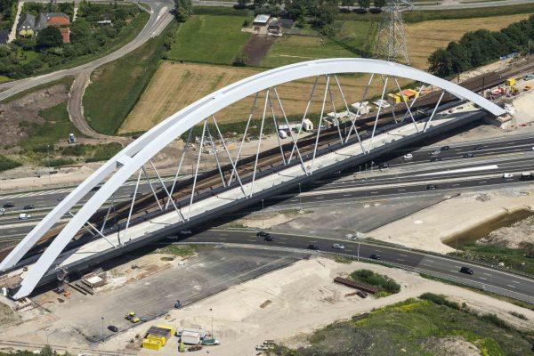 Spoorbrug  A1, fase 3